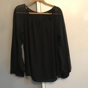 Guess by Marciano- Black Blouse